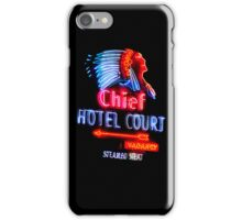 Las Vegas Neon Collection - Chief Hotel Court iPhone Case/Skin