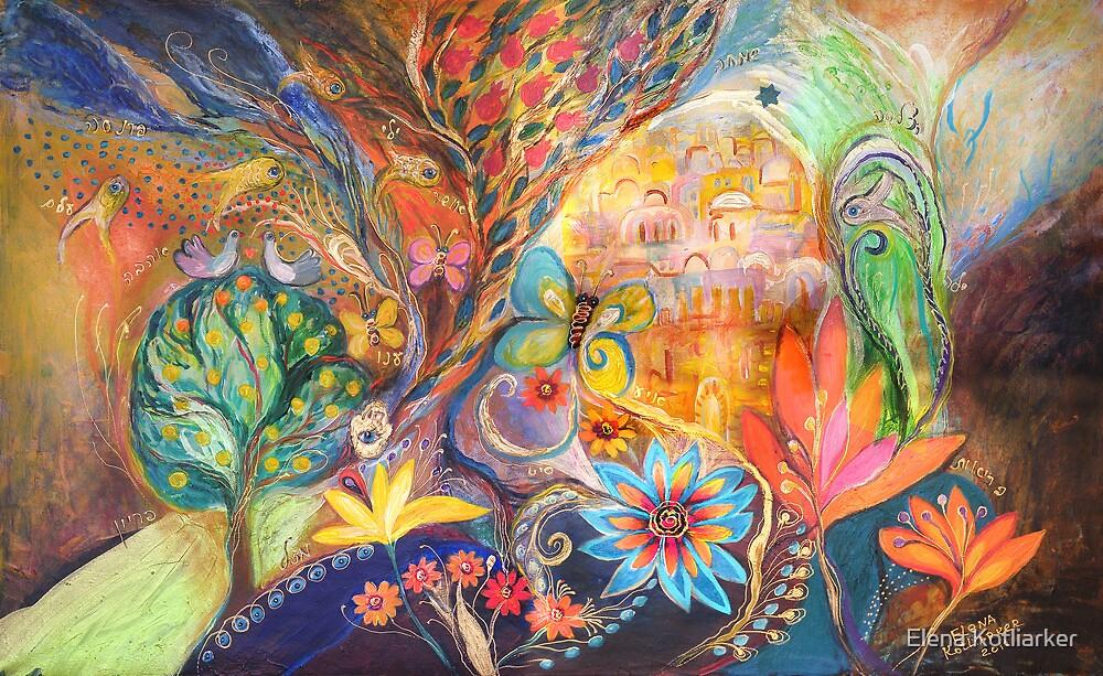 The Golden Jerusalem by Elena Kotliarker