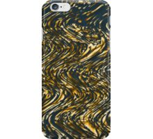 Wavy stripes iPhone Case/Skin