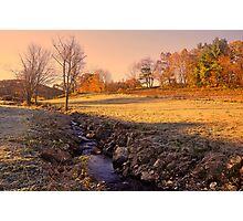 Fall Morning  Photographic Print
