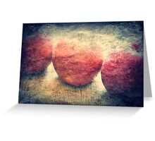red and ready Greeting Card