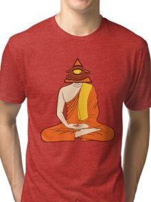 Third Eye Monk Tri-blend T-Shirt