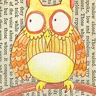 Book Owl the Wise by frothybetty
