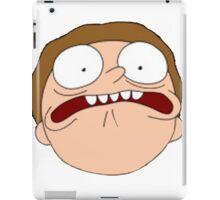 Rick and Morty Afraid  iPad Case/Skin