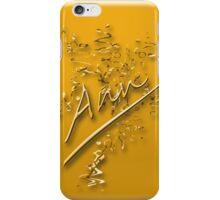 Ann- gold iPhone Case/Skin