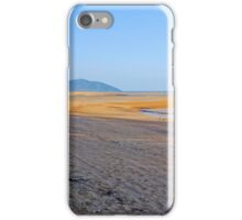 Beach at low tide iPhone Case/Skin