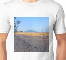 Beach at low tide Unisex T-Shirt