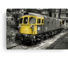 Class 33 at Swanage Canvas Print