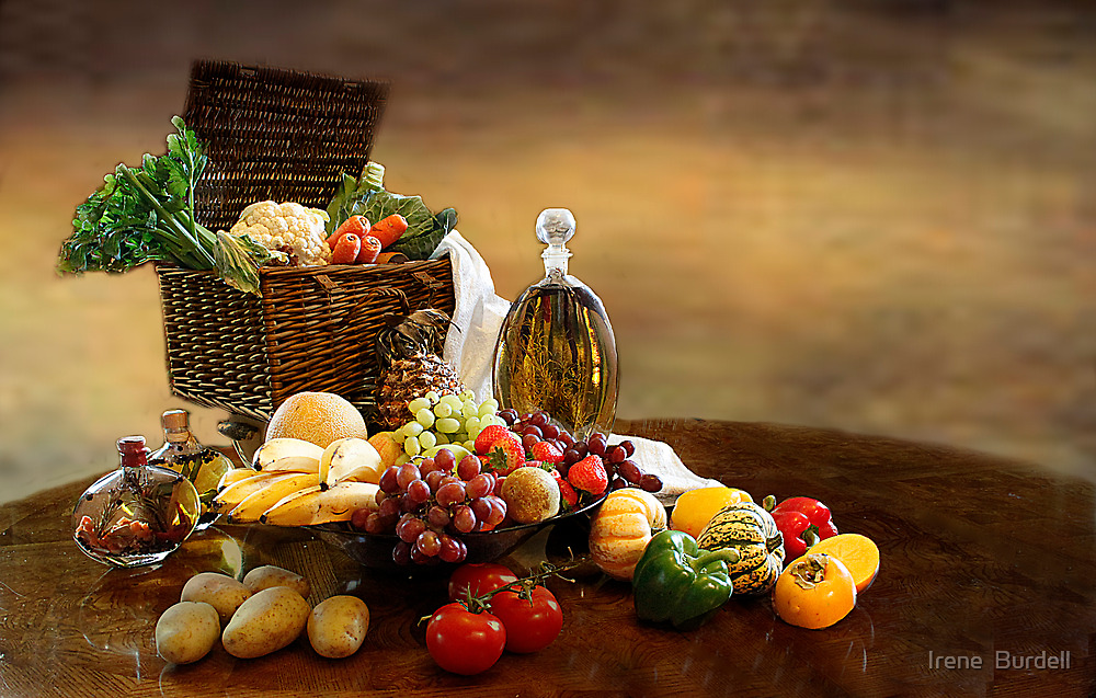 Fruit and Vegetables  by Irene  Burdell