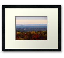 Autumn Landscape II Framed Print