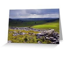 Crummackdale - The Yorkshire Dales Greeting Card