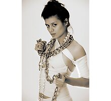 D Chained Photographic Print
