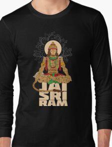 Hanuman Sankat Mochan Long Sleeve T-Shirt