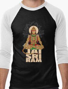 Hanuman Sankat Mochan Men's Baseball ¾ T-Shirt