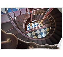 Hatteras Staircase Poster