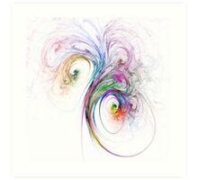 Bouquet of Colours Art Print