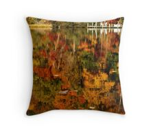 Fall in the Water Throw Pillow