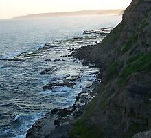 Bogey hole cliffs, Newcastle, NSW. Australia.2 by D4RKH0R53