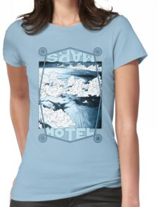 Blue Cloud Sea Womens Fitted T-Shirt