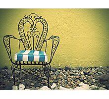 Chair Photographic Print
