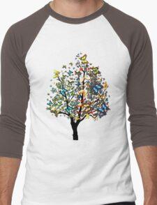 Butterfly Tree2 Men's Baseball ¾ T-Shirt