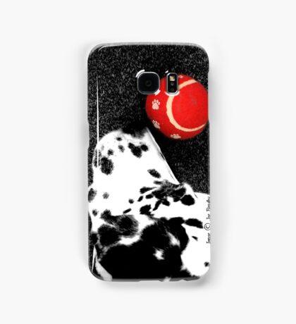 Red Ball Samsung Galaxy Case/Skin