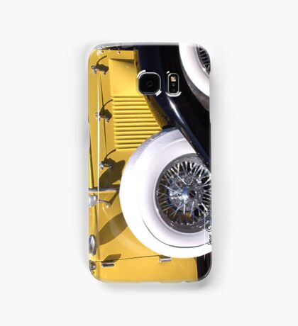 Yellow Roadster  ~ Samsung Galaxy Case/Skin