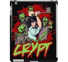 Zombies VS axe iPad Case/Skin