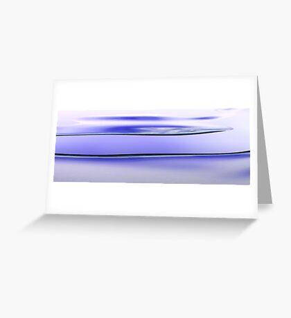 Tidal Waves Greeting Card