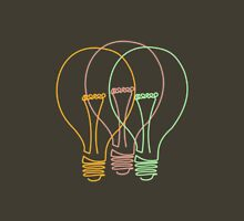 Three Lightbulbs Unisex T-Shirt