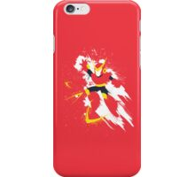 Quickman Splattery Shirt iPhone Case/Skin