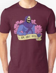 I AM NOT NICE Skeletor T-Shirt