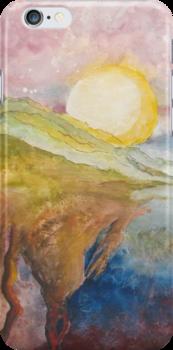 """Elemental"" iphone Case by Lesley Atlansky"