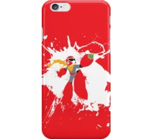 Protoman Paint Explosion iPhone Case/Skin