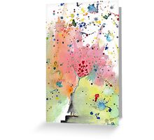 Give your heart Greeting Card