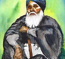 Bhai Sahib Randheer Singh Jee by Iminder Singh