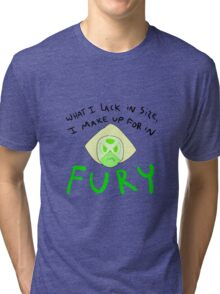 Fury - Peridot Tri-blend T-Shirt