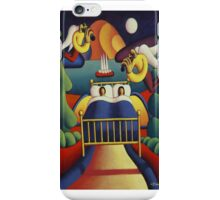 The Lovers  bed with angels iPhone Case/Skin