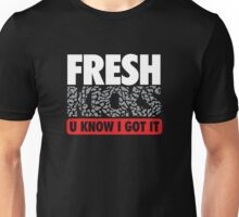 Fresh Kicks White Cement Unisex T-Shirt