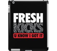 Fresh Kicks White Cement iPad Case/Skin