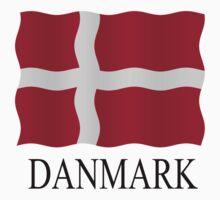 Danish flag Kids Tee