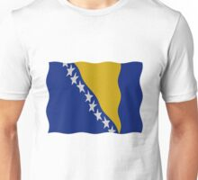 Bosnia flag Unisex T-Shirt