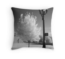 Urban Tree Throw Pillow