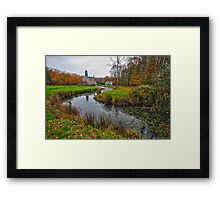 Country estate Dune Brook Framed Print