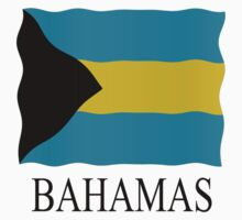 Bahamas flag by stuwdamdorp