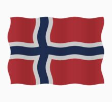 Norway flag by stuwdamdorp