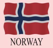 Norway flag Kids Tee