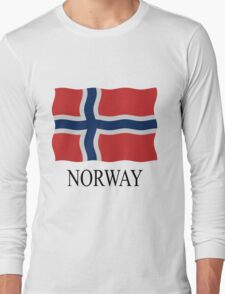 Norway flag Long Sleeve T-Shirt
