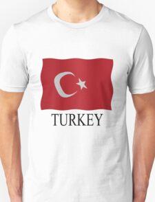 Turkish flag Unisex T-Shirt