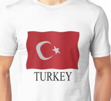 Turkish flag Unisex T-Shirt